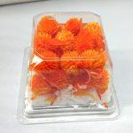 千日紅・プリザーブド・ヘッド フルーティオレンジ
