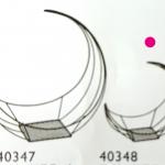ワイヤー三日月・小 40348 ブラック
